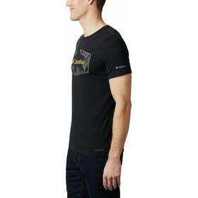 Columbia Terra Vale II Kurzarm T-Shirt Herren black roam hex